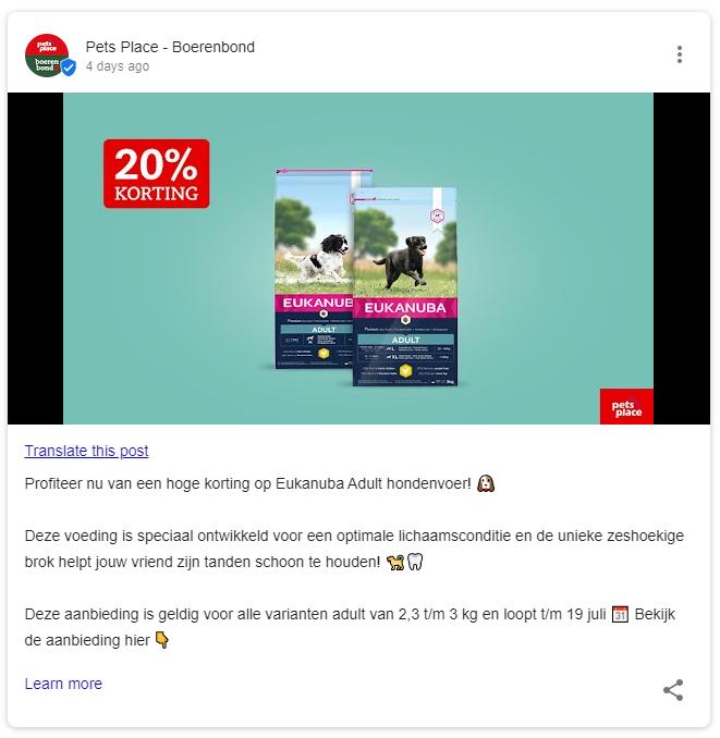 Pets Place Google